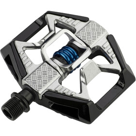 Crankbrothers Double Shot 2 Pedaler, black/raw